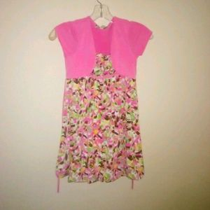 5/$10 Speechless girl pink one piece dress size 7